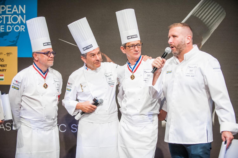 Joseph Viola, Regis Marcon, Alain Lecossec és Jókuti András (Fotó: Bácsi Róbert)