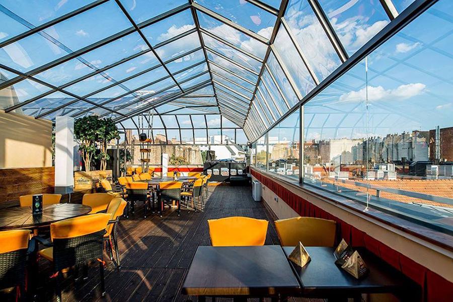 Gozsdu Sky Terrace (Fotó: Gozsdu Sky Terrace // Facebook)