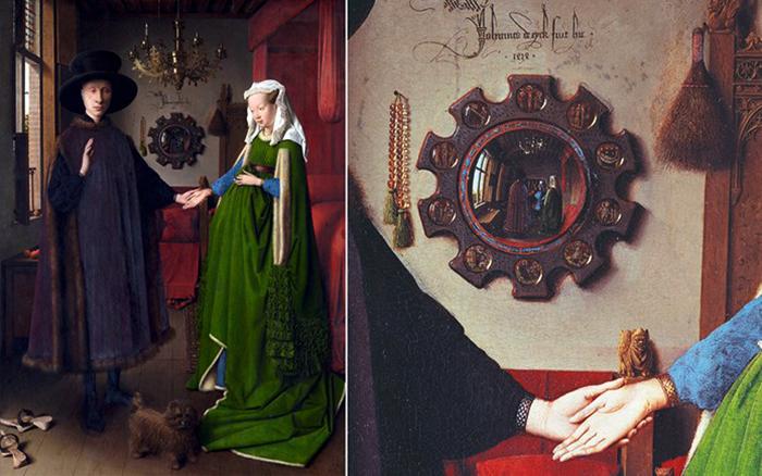 Jan van Eyck: Az Arnolfini házaspár (Fotó: www.finedininglovers.com)