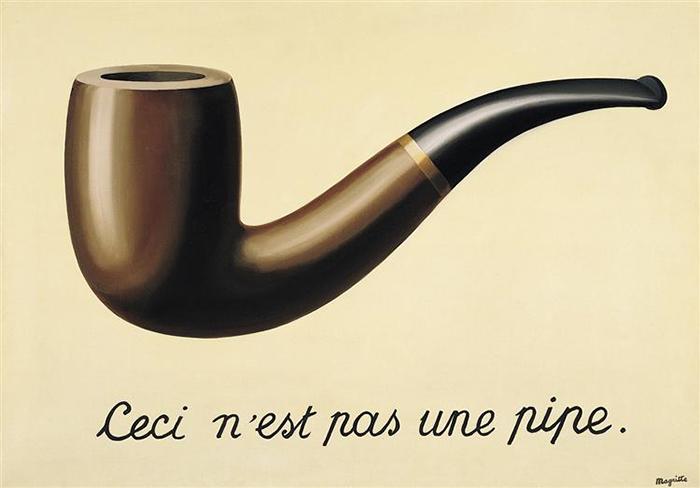 René Magritte: Ez nem egy pipa (Fotó: Wikiart)