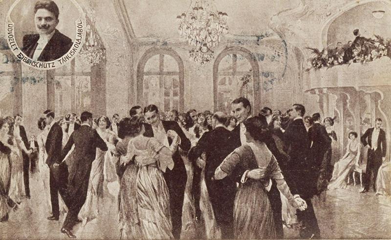 Eibenschutz tánciskola (A fotó a szerző, Csontó Sándor tulajdona.)